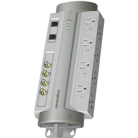 surge protector panamax power conditioner wall av tv gray mount outlet peerless tvs flat motion most end extends panel bestbuy
