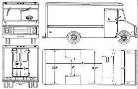 61 best images about blueprints cars on pinterest With 1955 chevy step van