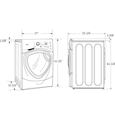 washer dryer sizes stackable washer dryer dimensions washing machines compact