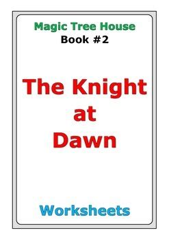 magic tree house  knight  dawn worksheets  peter