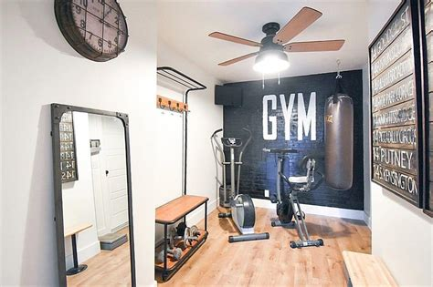25 real workout rooms to inspire your home decor