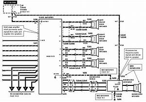 Wire Diagram For A Ford Cd Cassette Radio Model Number  Xf2f