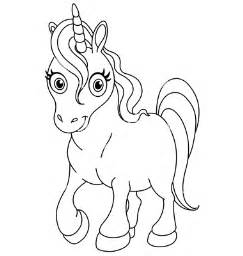 Unicorn Clip Art Black and White