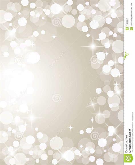 christmas silver lights stock photography image 21890812