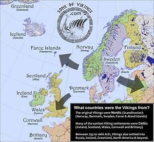 Viking, Countries