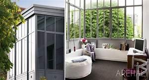 Veranda Style Atelier : arehal v randa et verri re l 39 ancienne sur mesure en r gion parisienne alain mottais ~ Melissatoandfro.com Idées de Décoration
