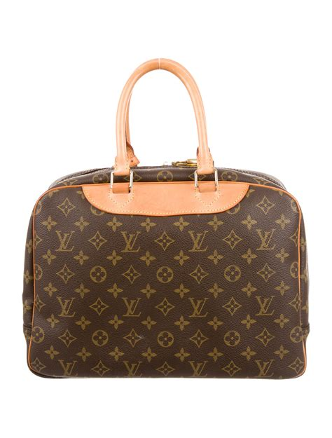 louis vuitton monogram deauville bag handbags