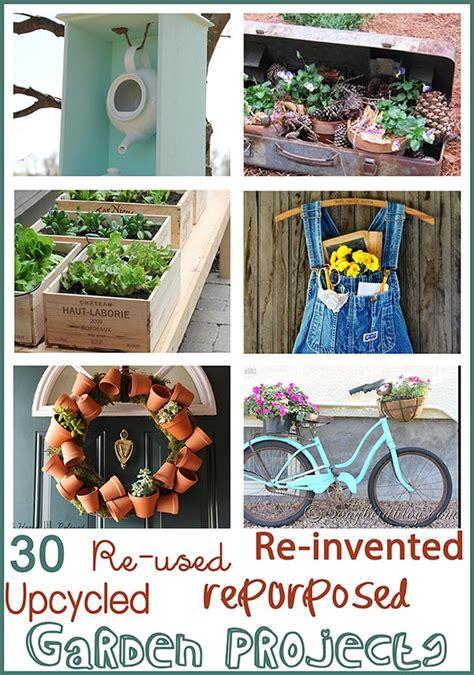 Junk Filled Garden Ideas Songbird