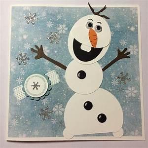 Die Eiskönigin Olaf : olaf aus die eisk nigin als geburtstagskarte diy pinterest olaf lettering und snowman ~ Buech-reservation.com Haus und Dekorationen