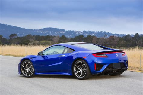 2017 honda acura nsx review of technical specs