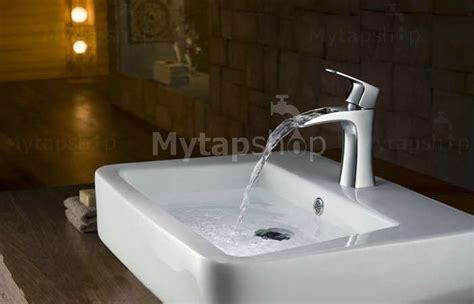 Waterfall Bathroom Sink Tap (chrome Finish) T [t