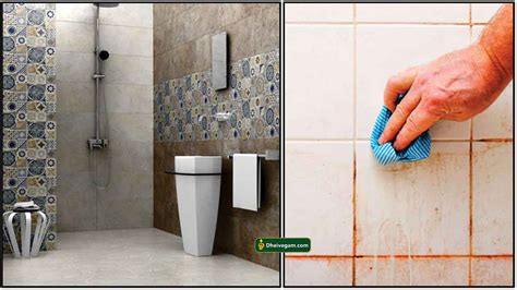 bathroom tiles cleaning tips