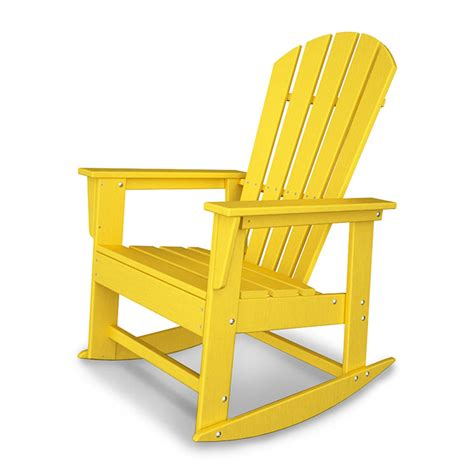 Polywood South Adirondack Rocking Chair by Polywood South Adirondack Rocking Chair Ultra