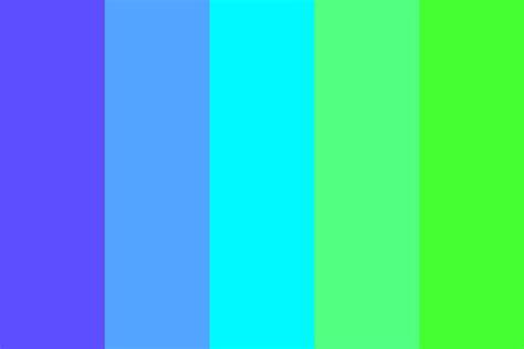 blue green color palette blue green gradient color palette