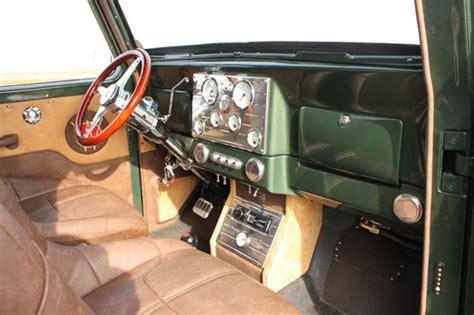 willys jeep truck interior marshall scott
