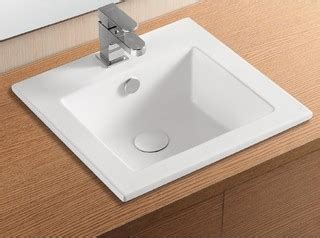 sink kitchen plumbing stylish square white ceramic self sink by 6932