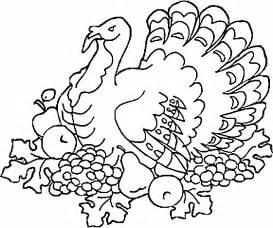thanksgiving turkey coloring pages to print for