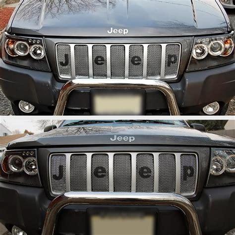 99 04 jeep grand eye halo led projector