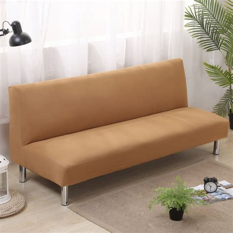 Loveseat Futon Cover by Folding Armless Sofa Bed Futon Cover Furniture Seater