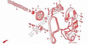Camshaft  Timing Belt For Honda Cars Civic 1 6 Sport 3