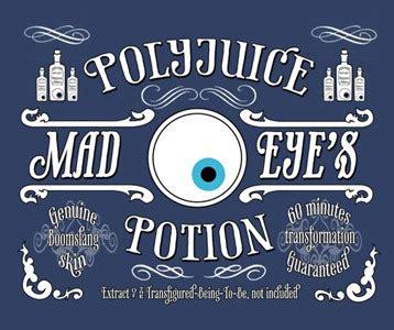 polyjuice potion  shirt mad eye moody shirt harry potter