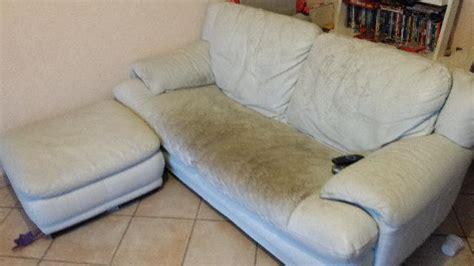 canapé authentica canapé cuir de buffle à donner à livry gargan
