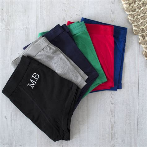 underwear subscription  embroidered monogram  solesmith notonthehighstreetcom