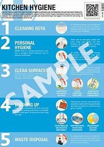 Kitchen Hygiene Guidance Poster