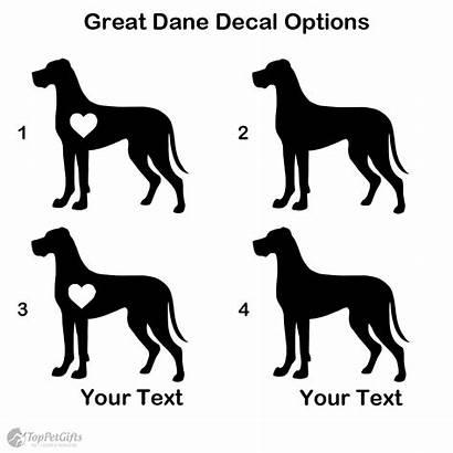 Dane Decal Personalized Wishlist