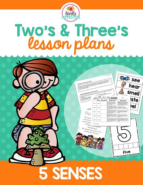 5 senses lesson plan for 2 and 3 year olds preschool 612 | e8cb1f56d9d75e58db64be76cd77eda8