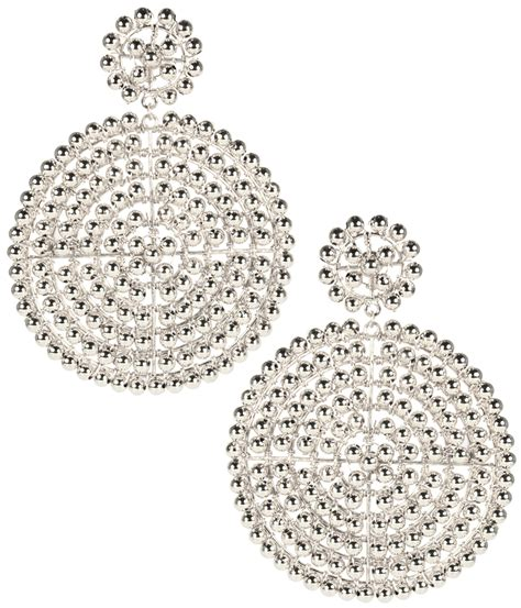 Lisi Lerch Disk Silver Earrings  Hauteheadquarters. Bridesmaid Hair Jewellery. Dilsukhnagar Jewellery. Chatila Jewellery. Bottle Green Jewellery. Turban Jewellery. Owner Jewellery. Emitation Jewellery. South Pattern Jewellery