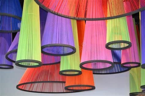 coloured handmade dimensional model  geometric solid
