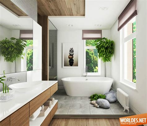 Роскошные ванные комнаты