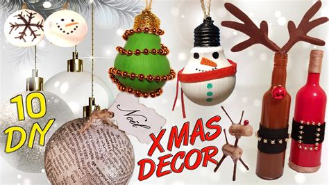 diy christmas recycled decoration   youtube