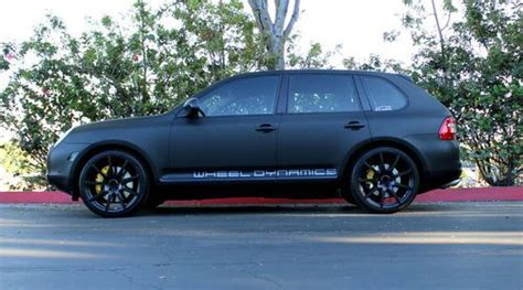porsche cayenne matte purchase used 2004 porsche cayenne turbo s matte black 22