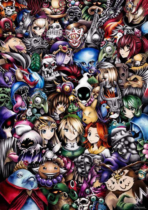 The Legend Of Zelda By Sandraink On Deviantart