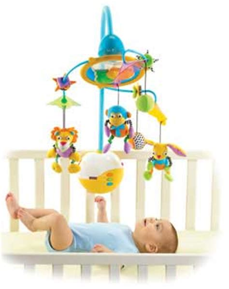 crib mobile with lights tiny symphony light and motion mobile in