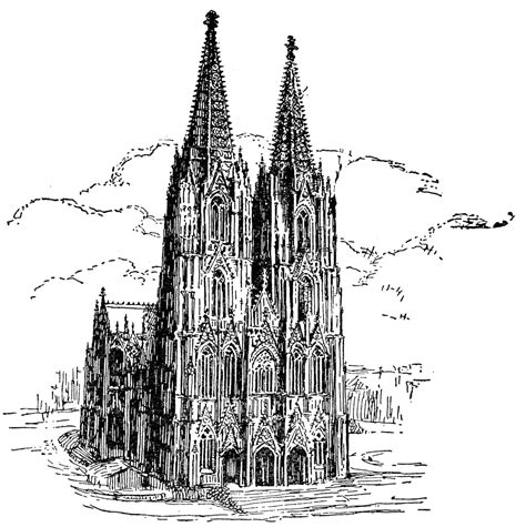 cologne cathedral clipart
