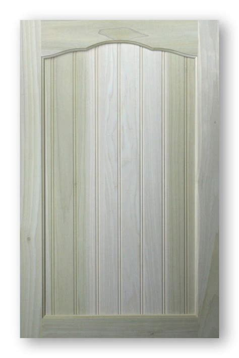 Paint Grade Sunset Arch Top Cabinet Doors
