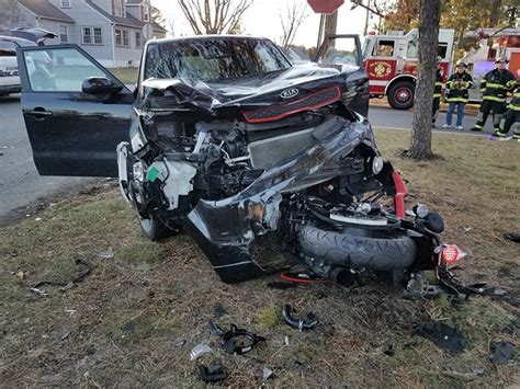 Car Vs. Motorcycle Crash In Beachwood