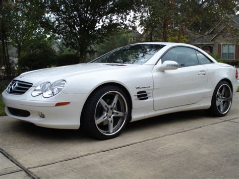 Sl Class Modification by Rmcole 2003 Mercedes Sl Class Specs Photos