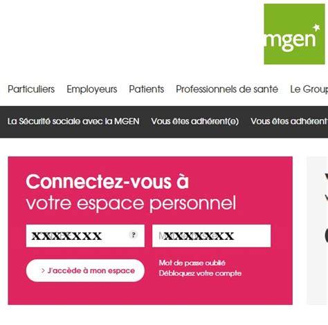mgen si鑒e mgen fr espace adhérent en ligne chez la mutuelle mgen filia