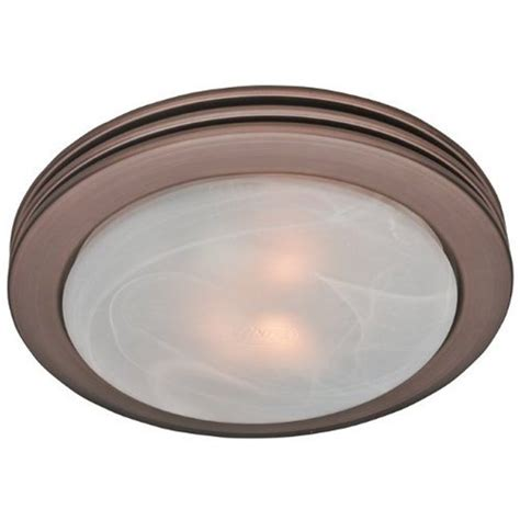 hunter fan saturn imperial bronze bath fan  light