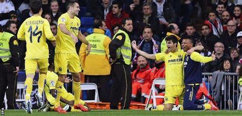 Real Madrid 1-1 Villarreal - BBC Sport