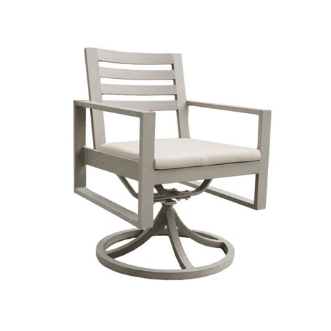 ratana park swivel dining arm chair leisure living