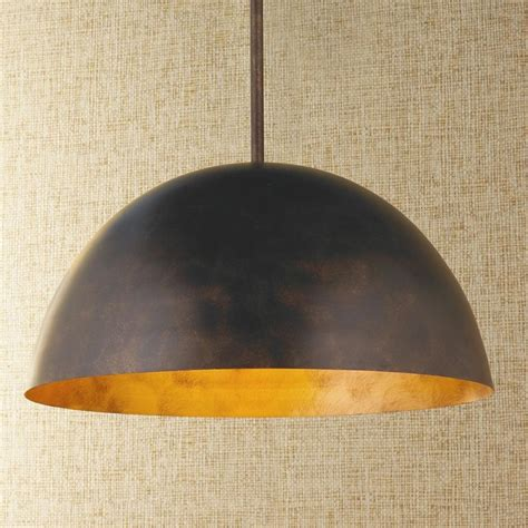 large dome copper pendant pendant lighting by shades