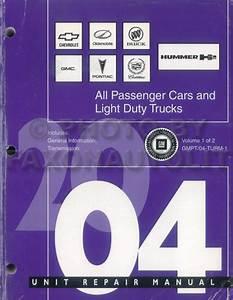 2004 Pontiac Grand Prix Repair Shop Manual Original 2