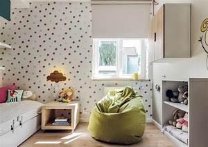 Peinture Murale Blanche : chambre enfant plus de 50 id es cool pour un petit espace ~ Nature-et-papiers.com Idées de Décoration