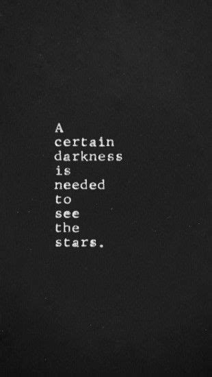 A certain darkness is needed to see the stars - The iPhone