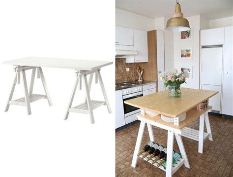 transformer une table de cuisine 15 idées pour customiser un meuble ikea avec un résultat